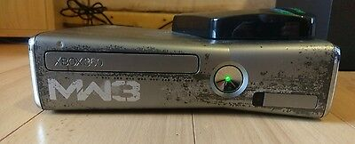 Xbox 360 Slim Console with MW3 Housing and working original controller