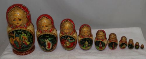 Russian Nesting Dolls 10 Piece