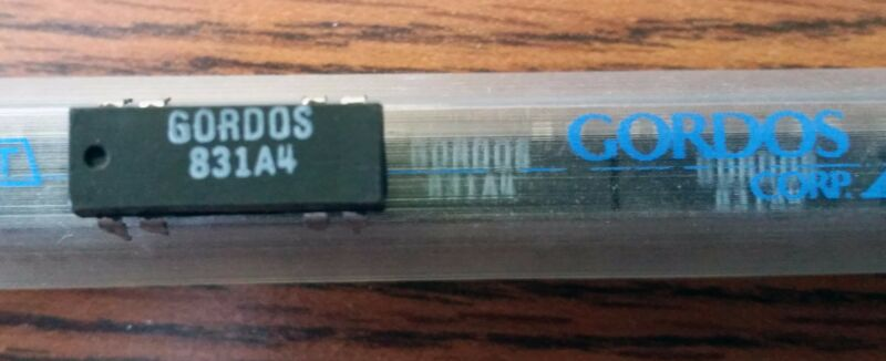 Gordos 831A4 Reed Relay / BRAND NEW / US Seller / Free Shipping