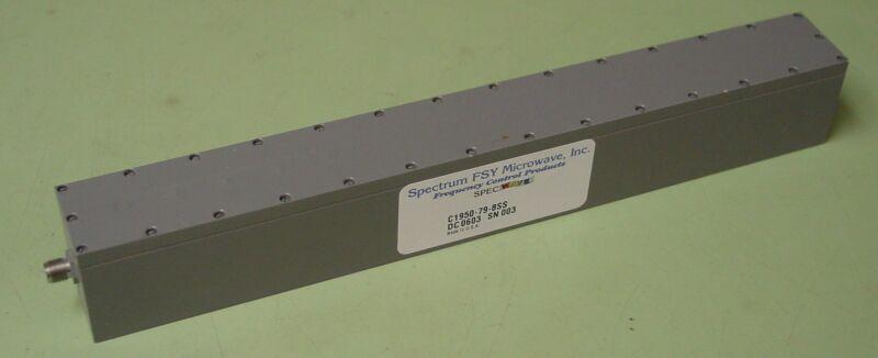 Spectrum FSY Microwave 1950 MHZ RF Bandpass Filter