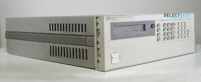 Agilent Hp 6624a Dc Programmable Power Supply 40w Four Outputs Ref 250e