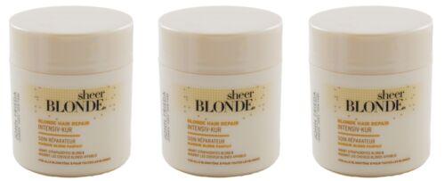 JOHN FRIEDA sheer blonde BLONDE HAIR REPAIR Intensiv-Kur 3 x 150 ml HAARKUR Neu
