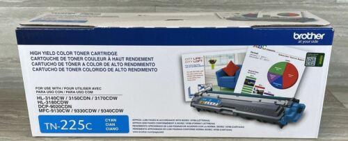 New Genuine OPEN BOX Brother TN-225 C Cyan Toner Cartridge