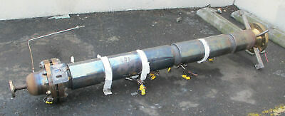 316 Stainless Steel Distillation Column 7 X 7 Ft With 12 Flanges Vessel