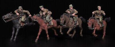 72027 Deutsche Kavallerie Unterfeuer 1/72 Resin