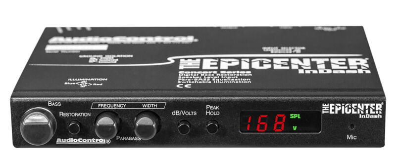 AudioControl The Epicenter InDash In-Dash Bass Maximizer Processor Audio Control