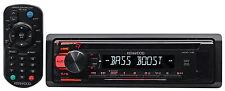 Kenwood KDC-118 Single-Din In-Dash CD Receiver w/Aux/Mp3/WMA, 3-Band Eq+Remote