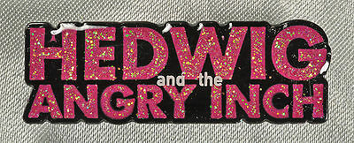 HEDWIG THE ANGRY AND THE ANGRY INCH BROADWAY SOUVENIR LAPEL PIN   FREE