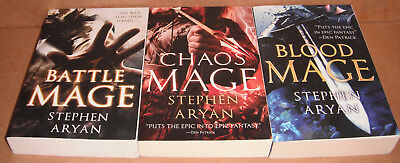 Age of Darkness Vol. 1,2,3 by Stephen Aryan Paperback