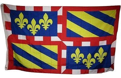 3x5 Burgundy French Region France Rough Tex Knitted Flag 3'x5' Banner