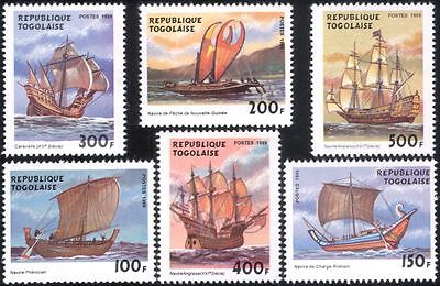 Togolaise/Togo 1999 Sailing Ships/Boats/Navy/Nautical/Transport 1v m/s (b4212)