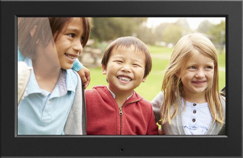"""Aluratek - 10.1"""" LCD Digital Photo Frame - Black"""
