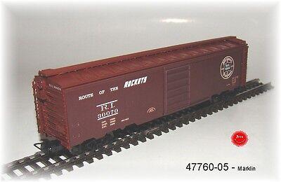 Märklin 47760-05 Ein Tin Plate Box Car der  Rock Island  Neu in OVP