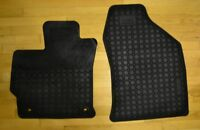Front seat rubber floor mats for 2012 Prius V (OEM)