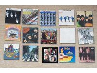 15 Beatles Albums - fridge magnets - as new
