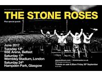 3 Stone Roses Tickets