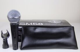 Shure sm58 brand new