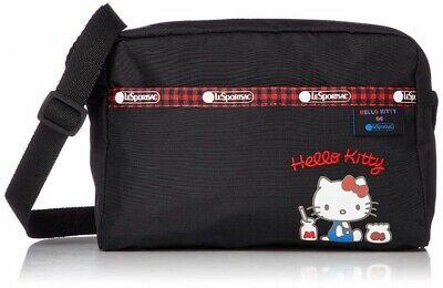 Hello Kitty LeSportsac 45th Bolso Bandolera DANIELLA CROSSBODY Negro Japón