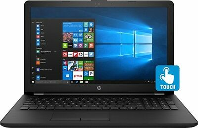 NEW HP 15-AY196NR 15.6'' HD TOUCHSCREEN LAPTOP i7-7500U 3.5GHz 8GB 1TB WIN10