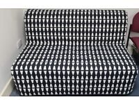 IKEA Sofabed with Mattress, Cover and Storage