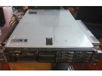 Dell PowerEdge R710 Server, 2 x Intel Xeon, 24GB ram, 2.5TB HDD.
