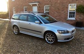 VOLVO V50 SPORT ESTATE 1.8L 2006 - 88,000 Miles - One Owner from New