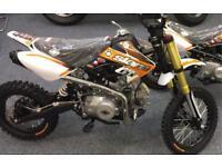 Brand New Slam MXR 125 pit bike In Stock credit & debit cards accepted
