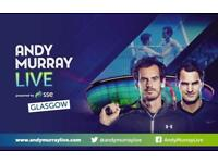 Andy Murray Live Tickets X 3 FACE VALUE