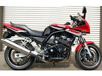 2001 YAMAHA FZS 600 RED FAZER 600 AMAZING CONDITION MOTORCYCLE
