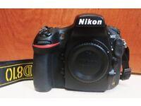 Nikon D810 36.3MP DSLR camera body £1400