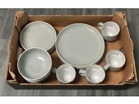 4 plates 4 side plates 4 bowls 4 mugs