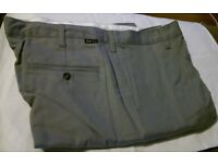 Mens Workshop Trousers, Grey, Khaki, Charcoal, Work Shirts Non FR and Flame Retardant, All New 6