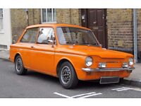 hillman imp for sale unfinished project 90% done