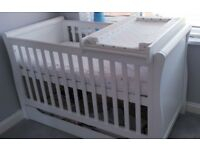 Chiltern Cotbed for sale from mothercare