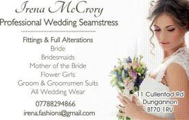 Professional Seamstress/Wedding Dress Alterations/Dressmaker/All Bridal Fittings & Alterations