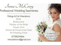 Professional Seamstress/Wedding Dress Alterations/Dressmaker/All Bridal Fittings & Alterations