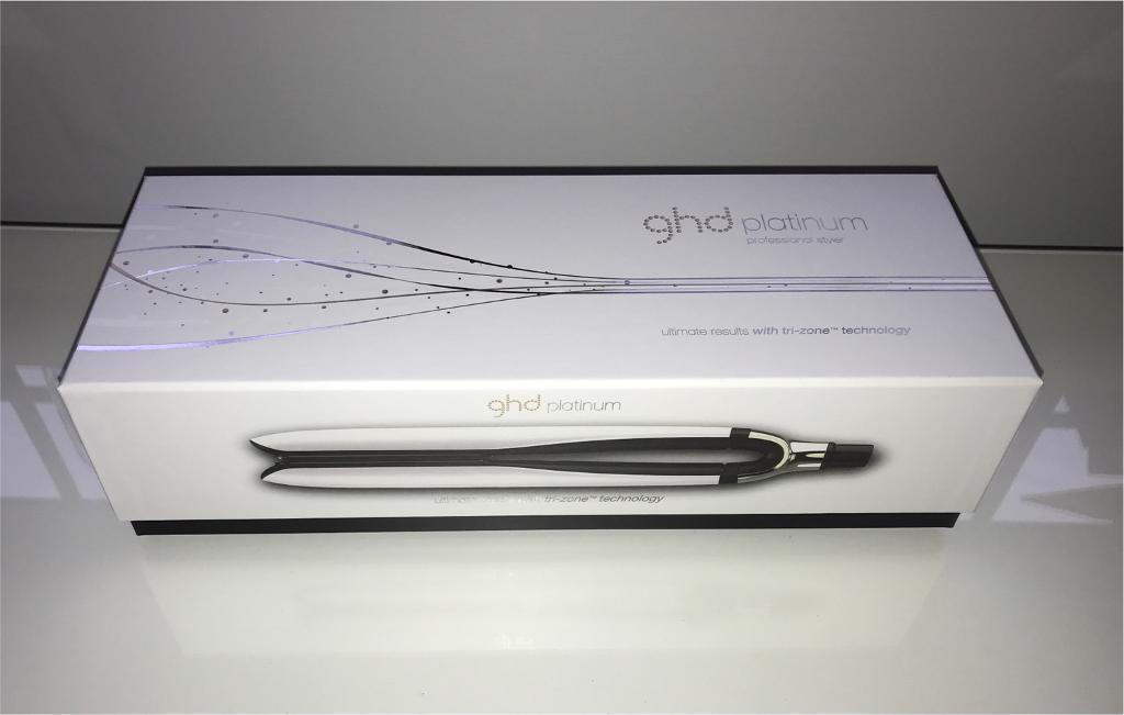 SOLD - NEW GHD platinum straighteners - white