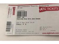 John Edwards tickets