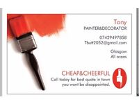 CHEAP&CHEERFUL PAINTER&DECORATOR :))