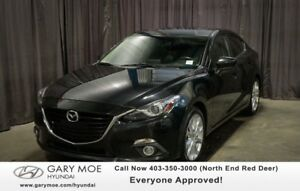 2014 Mazda 3 GT W/ SUNROOF, HEATED SEATS, BACK UP CAMERA!