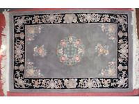 6' x 4' (1.8m x 1.2m) classic design real wool rug