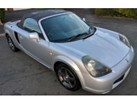 Toyota MR-S 1.8 VVTI Convertible / Cabriolet. Import MR2. Very Low Mileage. Amazing Condition.