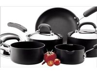 Used Circulon set of pots and pans