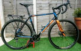 KTM Canic Cyclocross Bike 56cm Carbon Fork as new
