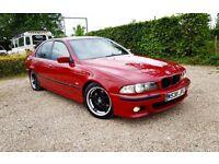 BMW 528i ///M-SPORT IMOLA RED AUTO FULL SERVICE HISTORY 1YEAR MOT