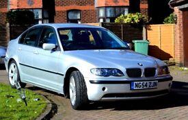 BMW 320d SE 6 Speed Silver Rare Grey Interior Long MOT Serviced Clean Car 3 Series Sports 54 Reg
