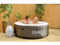 Garden Must - Lazy-Spa Miami Airjet Inflatable Hot Tub - Brand New in Box