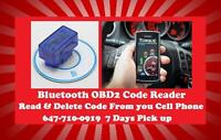 ★Bluetooth Android OBD2 Code Reader $35★