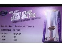 Super League Grand Final tickets Old Traffrd