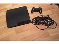 Sony PlayStation 3 slim (latest model) 120GB Charcoal black console